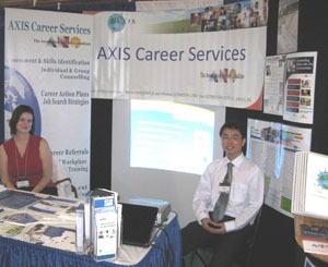 Career Fair at Memorial University (September 2009)