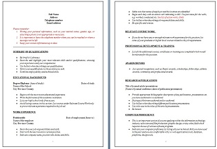 Community Service Outreach  Resume Tips